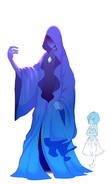 Blue Diamond and Blue Pearl