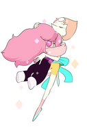 Overcooked Rose Quartz and Pearl hugging