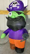Gemmy Prototype Halloween Inflatable Pirate