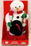 2006 MINI spinning snowflake snowman