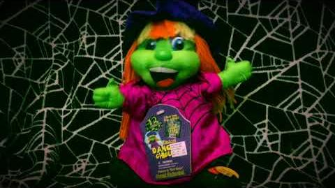 Gemmy Dancing Ghouls- Witch