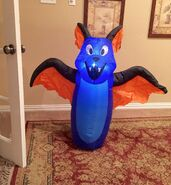 Gemmy Prototype Halloween Bat Inflatable Airblown