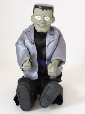 Halloween Frankenstein Animated Kicking Monster Sings The Monster Mash 6