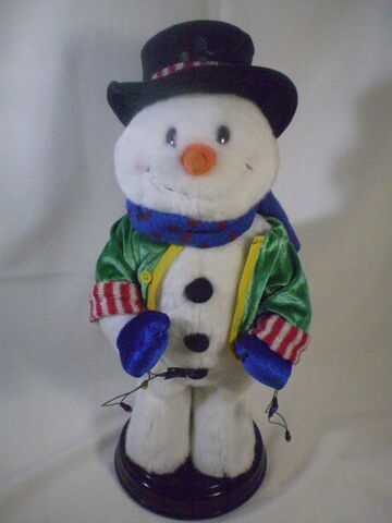 File:Gemmy Animated Dancing Singing Shake Your Groove Thing Lighted Snowman.JPG