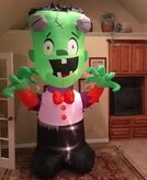 Gemmy Prototype Halloween Wacky Frankenstein Inflatable Airblown