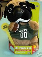 NEW YORK JETS SINGING & DANCING PARTY PUG - NEW