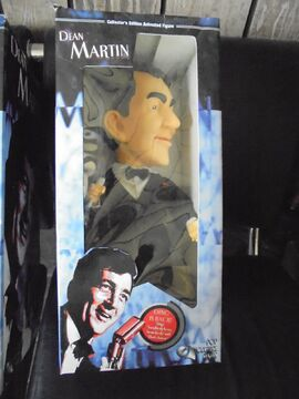 Dean Martin Collector's Edition Singing Animated Figure