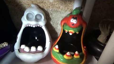 Gemmy Halloween Animated- Big Mouth Candy Bowls