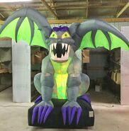 Gemmy Prototype Halloween Inflatable Animated Gargoyle 1