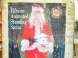 Life Size Animated Standing Santa
