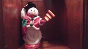 Uncommon redvest snowman-0