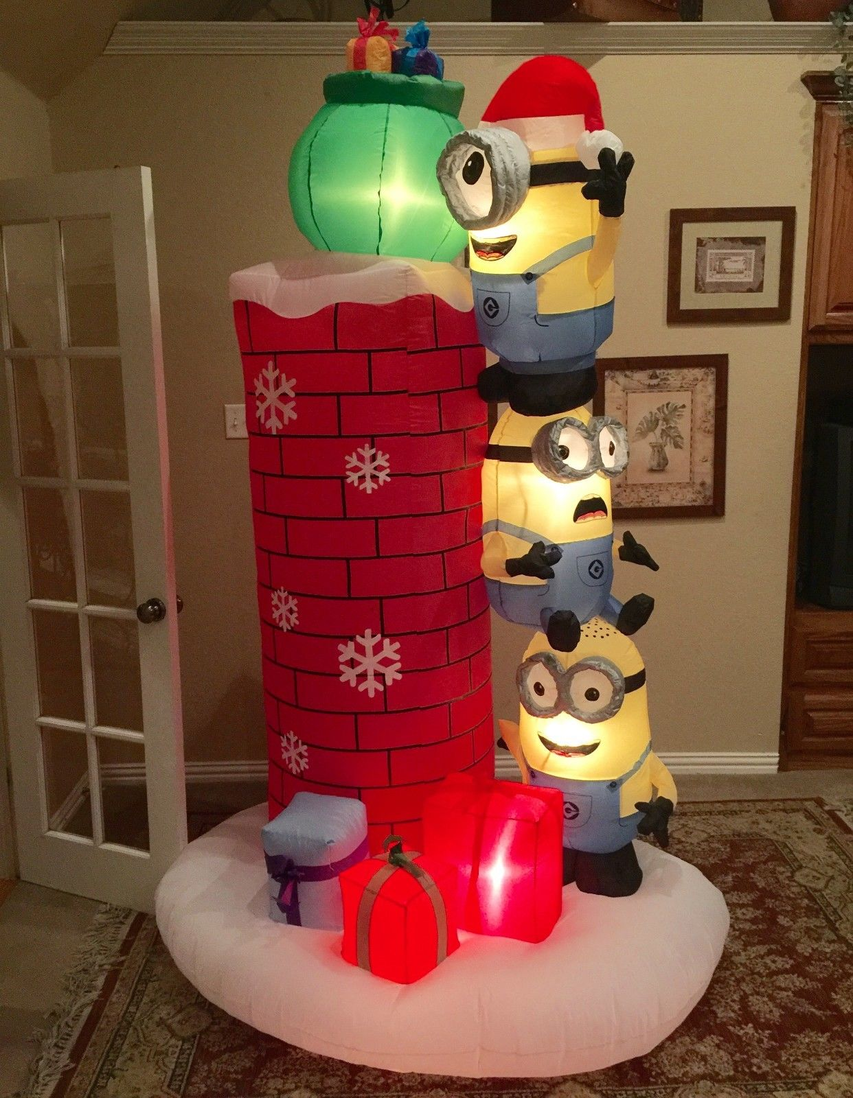 Image - Gemmy Prototype Christmas Minions Inflatable Airblown.jpg ...