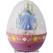 Easter Snowglobe-Cinderella