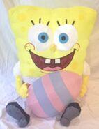 Gemmy inflatable Spongebob with Easter egg