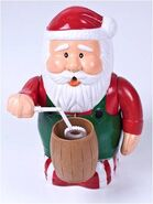 Gemmy animated bubble blower santa claus