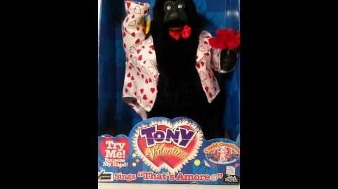 Gemmy Tony Valentino (Gorilla version)