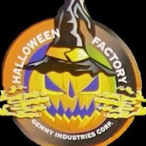 Halloween factory logo