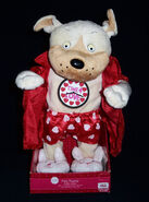 Singing Dancing Musical sexy FLIRTY FLASHER Dog Flashes Robe Valentines