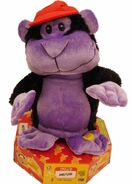 Gemmy Animated Mushi The Movin' Monkey Spins & Dances Musical Ape Plush Pal