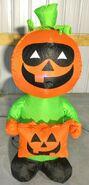 Gemmy Prototype Halloween Inflatable Pumpkin Man 1