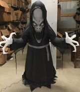 5ft Gemmy Airblown Inflatable Halloween Scary Reaper Prototype