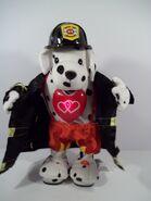 Flirty Flashers Fireman Dalmation K9 GEMMY Plush Animated Dancer