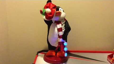 Snowflake Spinning Penguin