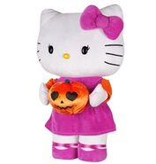 Halloween Greeter-Hello Kitty w pumpkin