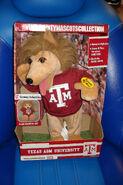 Gemmy Texas A&M university mascot