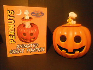 Animated great pumpkin