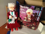 Rocking Chair Mrs. Claus