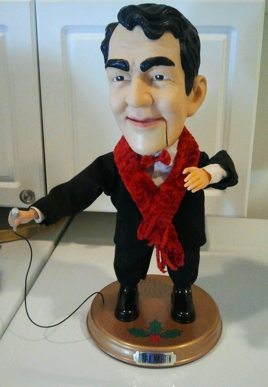 Image Dean Martin Singing Animated Figure Holiday Christmas Figure
