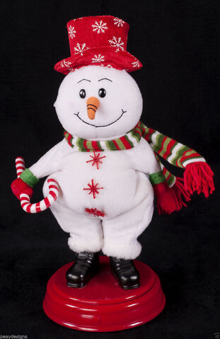 File:Gemmy Animated Snowman Dancing GOT THE POWER Singing Christmas Display.JPG