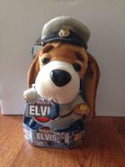 Gemmy Elvis sailor dog sings G I blues