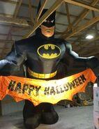 Gemmy Prototype Halloween Inflatable Batman