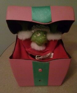 RARE How the Grinch Stole Christmas Grinch Present