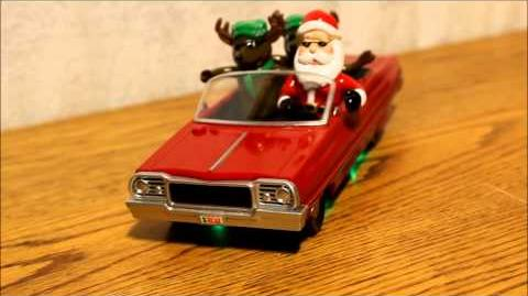 Animated Christmas Lowrider