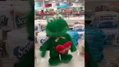 Dancing Valentine Frog Prince