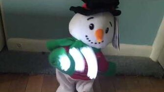 NEW FOR 2019 Gemmy Animated Spinning Snowflake Snowman (REVIEW COMING SOON)-0