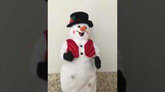 Gemmy Hip Swinging Snowman
