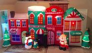 Gemmy Prototype Christmas Village Inflatable Airblown