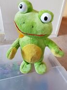 Gemmy-Industries-Side-Steppers-Frog-Plays-Shake-It