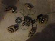Gemmy 2007 Halloween GLOW UPS Spooky Buried Skeleton Lighted Yard Decor 2