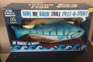 2009 Gemmy Industries FRANKIE THE FISH singing Filet-o-Fish McDonald's