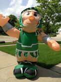 GEMMY UNIVERSITY OF MICHIGAN SPARTANS 8' ''SPARTY'' MASCOT AIRBLOWN INFLATABLE