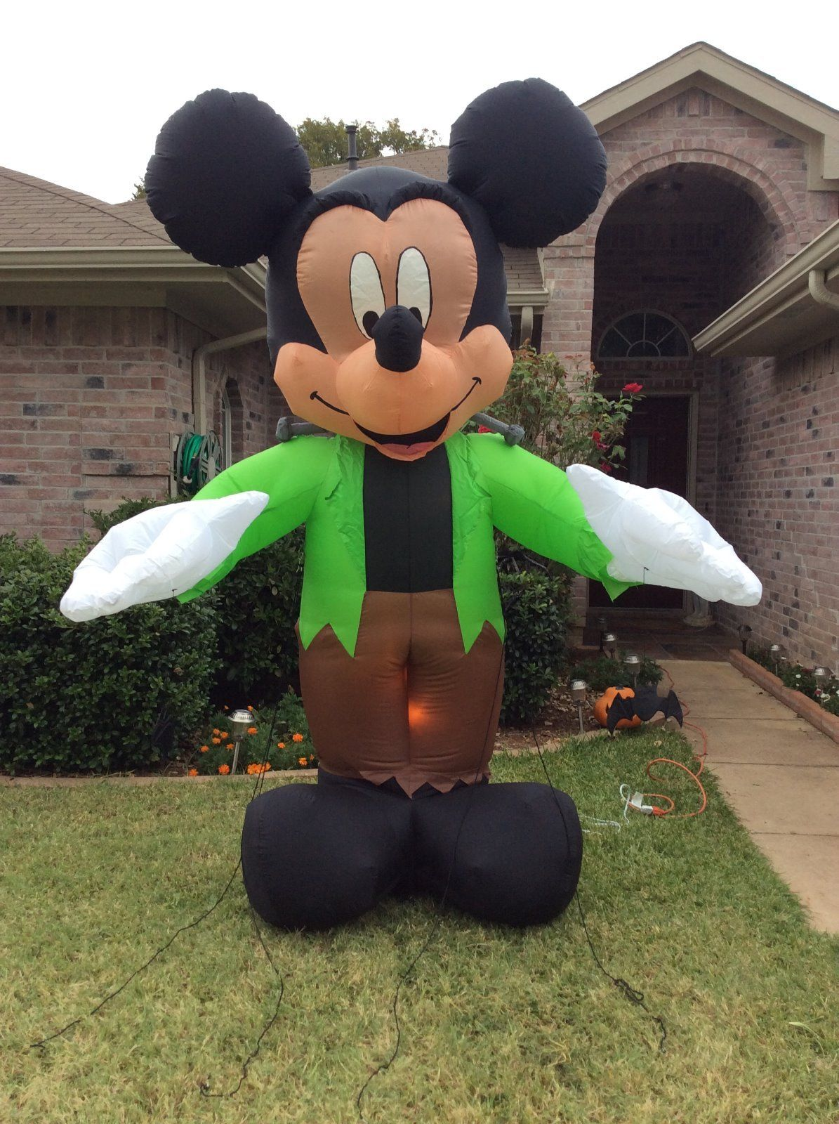 gemmy inflatable mickey mouse as monsterjpg - Mickey Mouse Christmas Blow Up