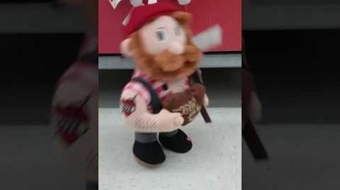 Dancing Valentine Lumberjack