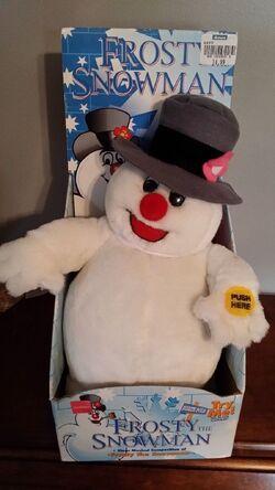 Gemmy musical frosty the snowman doll