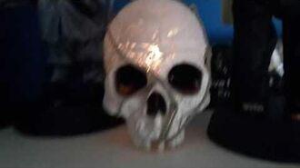 Gemmy Cracked Skull - Demo