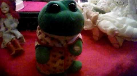 Singing frog!